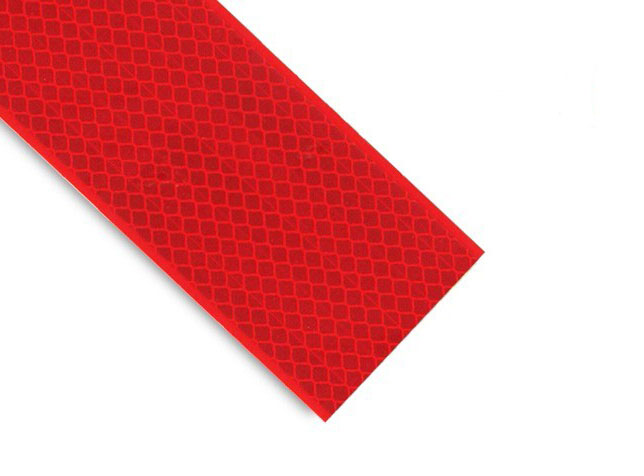 Red Retroreflective Tape Class 2 Grade 25mm x 9M